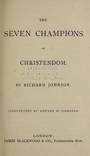 Cover of: The seven champions of Christendom