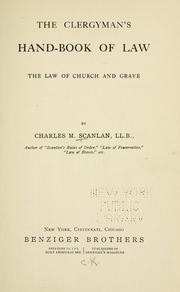 Cover of: The clergyman