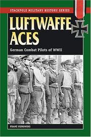 Cover of: Luftwaffe Aces