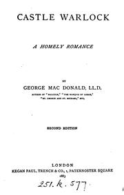 Cover of: Castle Warlock | George MacDonald