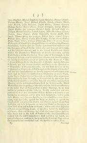 Cover of: An act for the more speedy and easy recovery of small debts in the town and borough of Grimsby, and the liberties thereof, and in the several parishes and places therein mentioned, in the county of Lincoln. |
