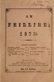 Cover of: feillire. |