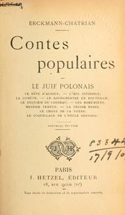 Cover of: Contes populaires