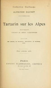Cover of: Tartarin sur les Alpes