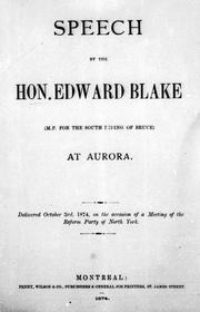 Cover of: Speech at Aurora