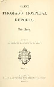 Cover of: Reports. | Saint Thomas