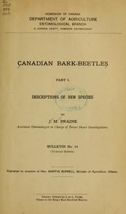 Cover of: Canadian bark-beetles. | Swaine, James Malcolm