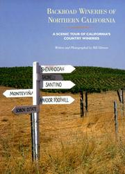 Cover of: Backroad wineries of northern California