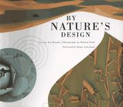Cover of: By Nature's Design