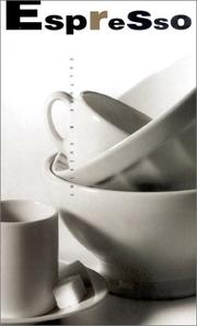 Cover of: Espresso