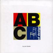 Cover of: ABC of design