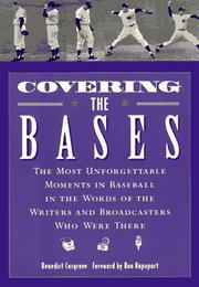 Cover of: Covering the bases