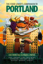 Cover of: The food lover's companion to Portland