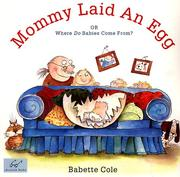 Cover of: Mommy Laid an Egg
