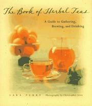 Cover of: The book of herbal teas