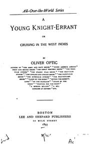 Cover of: A Young Knight-errant, Or, Cruising in the West Indies