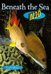 Cover of: Beneath the sea in 3-D | Mark Blum