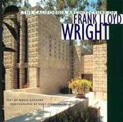 Cover of: The California Architecture of Frank Lloyd Wright