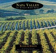 Cover of: Napa Valley | Antonia Allegra