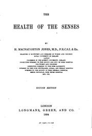 Cover of: The Health of the Senses
