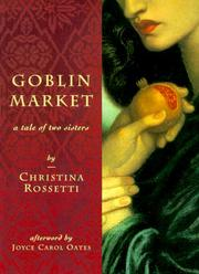 Cover of: Goblin market
