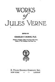 Cover of: The Works of Jules Verne: Twenty Thousand Leagues Under the Sea/a Journey to ..