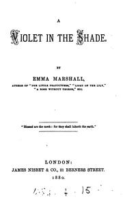 Cover of: A violet in the shade