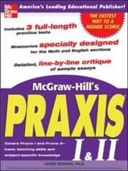 Cover of: McGraw-Hill's Praxis I & II Exam (McGraw-Hill's Praxis I & II)