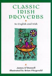 Cover of: Classic Irish Proverbs | James O