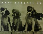 Cover of: What puppies do | Sharon Beals