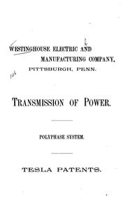 Cover of: Transmission of Power: Polyphase System : Tesla Patents
