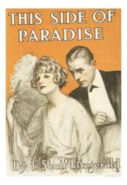 Cover of: This side of paradise by F. Scott Fitzgerald