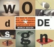 Cover of: World design