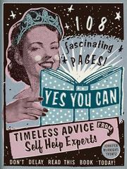 Cover of: Yes you can by Jennifer McKnight-Trontz