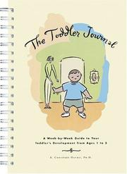 Cover of: The Toddler Journal