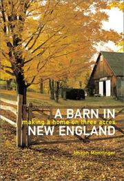 Cover of: A barn in New England