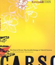 Cover of: The end of print