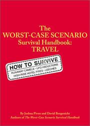 Cover of: The worst-case scenario survival handbook by Joshua Piven