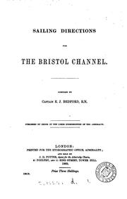 Cover of: Sailing directions for the British channel | Admiralty. Hydrographic Department