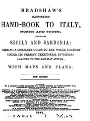 Cover of: Bradshaw's illustrated hand-book to Italy by George Bradshaw