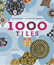 Cover of: 1,000 Tiles