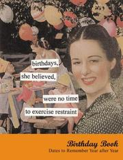 Cover of: Birthdays, She Believed Birthday Book | Anne Taintor