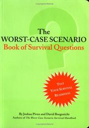 Cover of: The Worst-Case Scenario Book Of Survival Questions