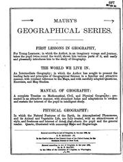 Cover of: First Lessons in Geography