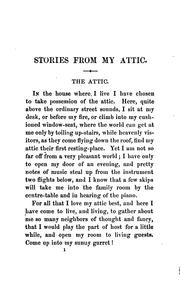 Cover of: Stories from My Attic