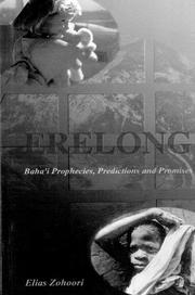 Cover of: Erelong by Elias Zohoori