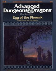 Cover of: The Egg of the Phoenix | Frank Mentzer