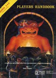 Cover of: Advanced dungeons & dragons, players handbook