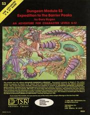 Cover of: Expedition to the Barrier Peaks (Advanced Dungeons & Dragons module S3)