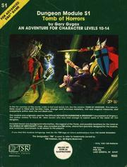 Cover of: Tomb of Horrors